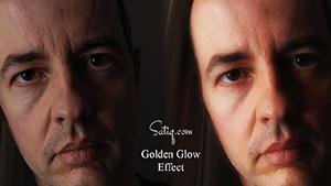 Golden-Glow-Effect-Photoshop-Tutorial